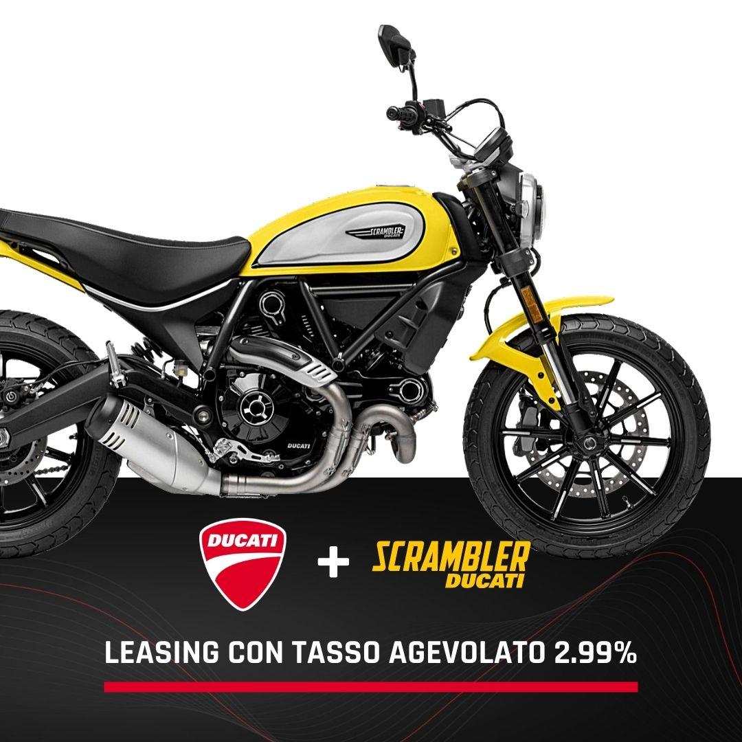 ducati scrambler icon promo leasing